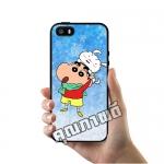 เคส ซัมซุง iPhone 5 5s SE ชินจังเล่นกับชิโร่ เคสน่ารักๆ เคสโทรศัพท์ เคสมือถือ #1258