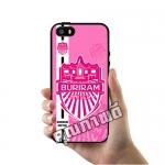 เคส ซัมซุง iPhone 5 5s SE เคส สโมสร บุรีรัมย์ ยูไนเต็ด พื้นชมพู เคสฟุตบอล เคสมือถือ #1031