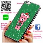 เคส ไอโฟน 6 / เคส ไอโฟน 6s หมีสีชมพู เคสน่ารักๆ เคสโทรศัพท์ เคสมือถือ #1151