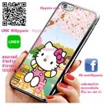 เคส ไอโฟน 6 / เคส ไอโฟน 6s คิตตี้ ซากุระ เคสน่ารักๆ เคสโทรศัพท์ เคสมือถือ #1019