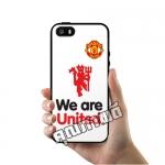 เคส ซัมซุง iPhone 5 5s SE เคส แมนเชสเตอร์ยูไนเต็ด We are United เคสฟุตบอล เคสมือถือ #1001