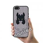 เคส ซัมซุง iPhone 5 5s SE เขี้ยวกุด ในกระเป๋าเสื้อ เคสน่ารักๆ เคสโทรศัพท์ เคสมือถือ #1043