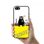 เคส ซัมซุง iPhone 5 5s SE คุมะมง ตึก เคสน่ารักๆ เคสโทรศัพท์ เคสมือถือ #1014