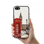 เคส ซัมซุง iPhone 5 5s SE โลโก้ ตู้โทรศัพท์แดง บิ๊กเบน เคสสวย เคสโทรศัพท์ #1019