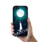 เคส iPhone 5 5s SE โลโก้ ลูกโป่งดวงจันทร์ เคสสวย เคสโทรศัพท์ #1112