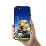 เคส ซัมซุง iPhone 5 5s SE มินเนี่ยน หอไอเฟล เคสน่ารักๆ เคสโทรศัพท์ เคสมือถือ #1050