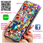 เคส ไอโฟน 6 / เคส ไอโฟน 6s โลโก้ การ์ตูนน่ารัก เคสสวย เคสมือถือ #1002