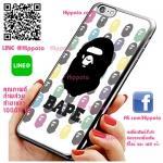 เคส ไอโฟน 6 / เคส ไอโฟน 6s โลโก้ BAPE ลิง โหด เคสสวย เคสมือถือ #1029