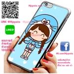 เคส ไอโฟน 6 / เคส ไอโฟน 6s เด็กผู้หญิง หมวก โดเรม่อน เคสน่ารักๆ เคสโทรศัพท์ เคสมือถือ #1015