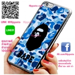 เคส ไอโฟน 6 / เคส ไอโฟน 6s โลโก้ BAPE ลิง ลายพรางฟ้า เคสสวย เคสมือถือ #1006