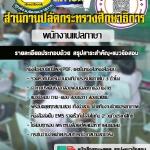 สรุปแนวข้อสอบพนักงานแปลภาษา สำนักงานปลัดกระทรวงศึกษาธิการ