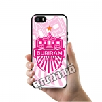 เคส ซัมซุง iPhone 5 5s SE เคส สโมสร บุรีรัมย์ ยูไนเต็ด สีชมพู เคสฟุตบอล เคสมือถือ #1030