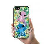 เคส ซัมซุง iPhone 5 5s SE สติชกับแองเจิ้ล สติชชมพู เคสน่ารักๆ เคสโทรศัพท์ เคสมือถือ #1035