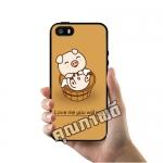 เคส ซัมซุง iPhone 5 5s SE หมูน้อย เคสน่ารักๆ เคสโทรศัพท์ เคสมือถือ #1108