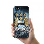 เคส ซัมซุง iPhone 5 5s SE เคส โลโก้ สโมสร แมนเชสเตอร์ ซิตี้ เคสฟุตบอล เคสมือถือ #1011