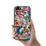 เคส ซัมซุง iPhone 5 5s SE โลโก้ การ์ตูนน่ารัก เคสสวย เคสมือถือ #1002