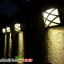 โคมไฟผนังโซล่าเซลล์ 6LED (แสงวอร์ม) thumbnail 1