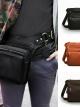 กระเป๋าสะพายข้างผู้ชาย เป็นกระเป๋าหนังแท้ ที่ใช้ได้ ทั้งผู้ชายและผู้หญิง สีดำ สีน้่ำตาล และสีน้ำตาลเข้ม