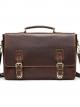 กระเป๋าสะพายข้าง กระเป๋าถือ ผู้ชาย ใส่แล็ปท็อป หนังสือ เอกสารต่างๆ เป็นกระเป๋าหนังแท้ (นูบัค หรือ Crazy Horse)