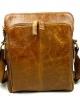 กระเป๋าสะพายผู้ชาย หนังแท้ ขนาดพอดีกับไอแพท เหมาะสำหรับทุกเพศทุกวัย พกพาสะดวกเวลาไปไหนมาไหน