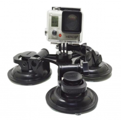 Suction Cup Triangle Car Mount Holder