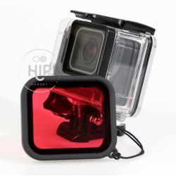 Red filter for Goproรุ่น 5/6/Hero2018