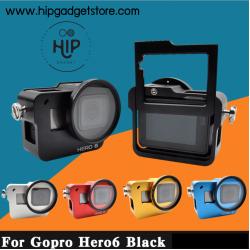 Gopro 5 6 Hero2018 case aluminium (สกรีน Hero6)