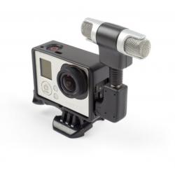 เซท Gopro4 External Microphone & Standard Frame Case