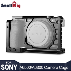 SmallRig Dslr Camera Rig Cage for Sony A6500 Aluminum Alloy Cage ( upgrade version ) - 1889