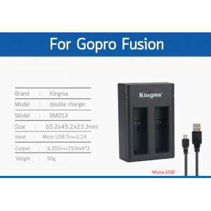 Gopro fusion Double Charger