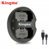 KingMa NP-FZ100 NP FZ100 Dual USB Charger for Sony