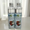 น้ำมันมะพร้าวบริสุทธิ์ สกัดเย็น ธรรมชาติ 100% เจ-เทสต์ ขนาด 100 มล.x 2 ขวด