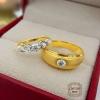 แหวนคู่แต่งงาน แบบขายดี (เพชรแท้)