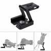 Z Folding Desktop Tripod Head Slide Camera Pack-shot Rack Portable Quick Release Plate 1/4 screw