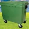 ถังขยะใหญ่มีล้อเข็น 660 ลิตร ไม่มีหูยก