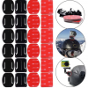 12PCS Flat Curved Mount