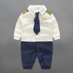 ชุดนักบิน ชุดหมีเด็ก ขนาด 3-6 เดือน