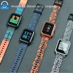 สายนาฬิกา Amazfit Bip ยางซิลิโคน รุ่น แฟชั่น (แท้)