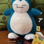 ตุ๊กตา Kabigon Snorlax คาบิก้อน Pokemon โปเกมอน ขนาด 10 นิ้ว งานลิขสิทธิ์แท้ ป้ายห้อย 100%