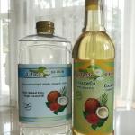 น้ำมันมะพร้าวบริสุทธิ์ สกัดเย็นธรรมชาติ 100% เจ-เทสต์ ขนาด 1,000 มล.+750 มล.ทำอาหาร