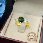 แหวนพลอย (Green Sapphire)