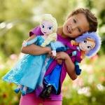 ตุ๊กตาเอลซ่า & แอนนา Anna & Elsa งานสวยมาก ห้อยป้ายDisney