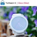 TicWatch E Glass (Sikai) | ฟิล์มกระจกกันรอยสำหรับ TicWatch E
