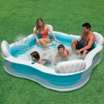 สระน้ำ Family Intex มีพนักพิง