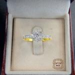 แหวนเพชรดีไซน์ดอกไม้ (ดอกพิกุล)