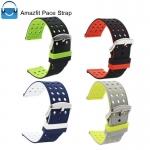 สายนาฬิกายางซิลิโคน รุ่น AS3 ขนาด 22 mm สำหรับ Amazfit Pace และ Amazfit Stratos