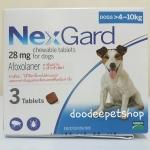 Nexgard 4-10 kg. Exp.12/18