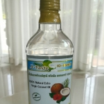 น้ำมันมะพร้าวบริสุทธิ์ สกัดเย็น ธรรมชาติ 100% เจ-เทสต์ ขนาด 250ml.