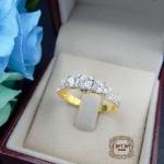 แหวนเพชรดีไซน์หัวชู สไตล์คลาสสิค (นางฟ้า 1)