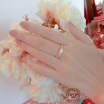 แหวนเพชรดีไซน์หัวชู สไตล์คลาสสิค (Butterfly)